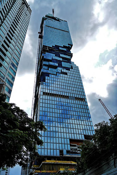 Mahanakhon<br /> Bangkok<br /> 6C+1.52PVB+6C YRE0152J(4#)+12A+8C 6C+1.52PVB+6C YKE0166J(4#)+16A+8C