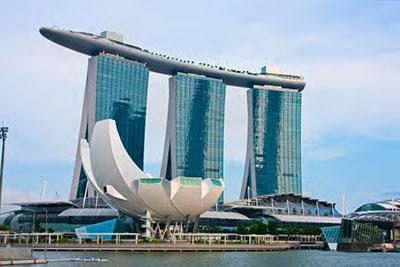 Marina Bay Sands Hotel<br /> Singapore<br /> 10CYME0142 +12Ar+5C+1.52PVB+5C